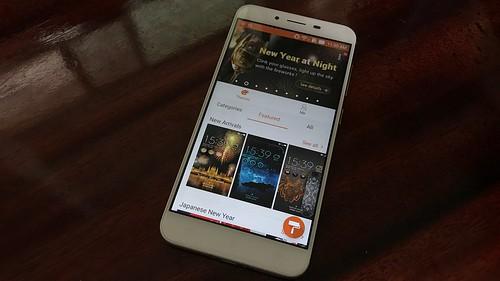 เลือกธีมสำหรับ ASUS Zenfone 3 Max ZC553KL ได้