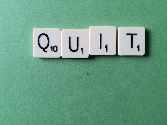 Quit Scrabble