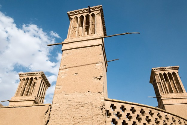 Wind towers. Yazd
