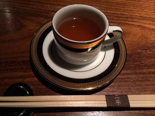 至高のコンソメスープ@二平 赤坂一ツ木通り