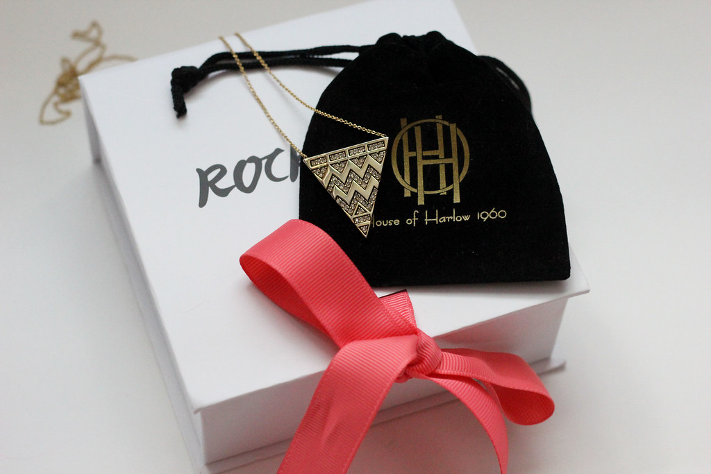 House of Harlow Tribal necklace rocksbox