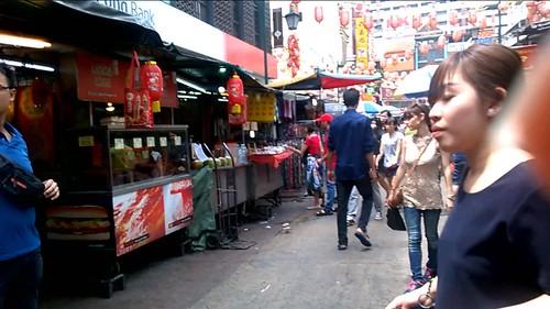 En el barrio chino de Kuala Lumpur
