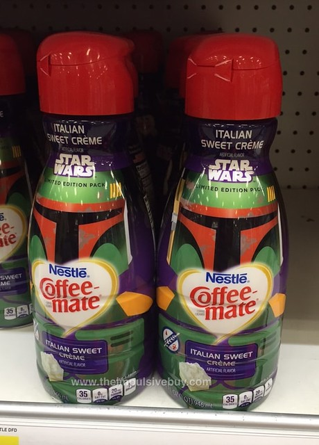Nestle Coffee-mate Limited Edition Star Wars Italian Sweet Cream
