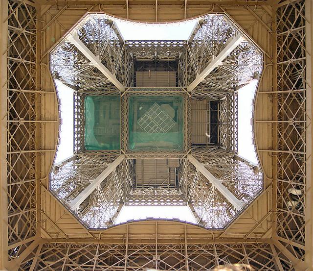 Eiffel tower - From below