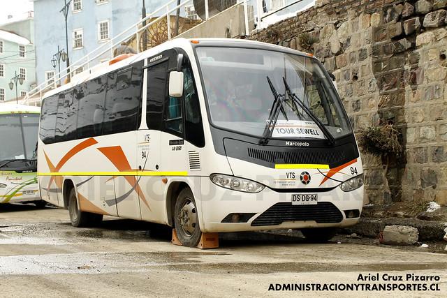 De paseo en sewell especial de buses de turismo y for Mercedes benz sewell