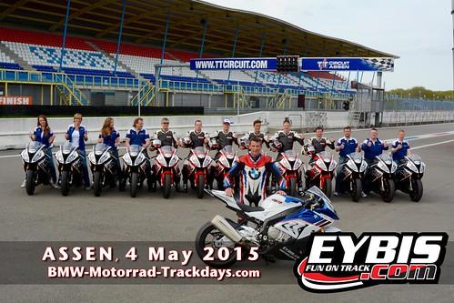 BMW Motorrad Track Days with Troy Corser, organised by EYBIS - ASSEN 2015 - 064