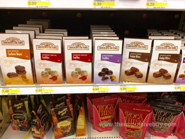 Rocky Mountain Chocolate Factory Cashew Bears, Truffles, and Fudge Bites