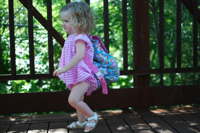 little girl's backpack sewing pattern