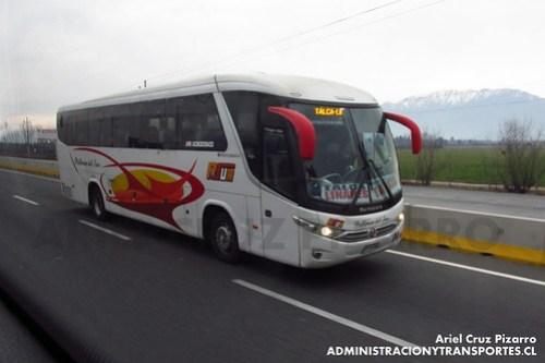 Pullman del Sur - Rancagua - Marcopolo Viaggio 1050 / Mercedes Benz (CYRX68)