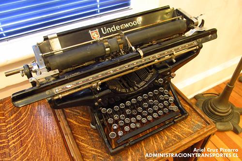 Museo Sewell - Máquina de Escribir