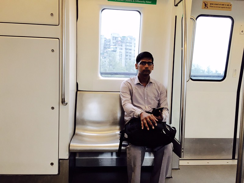 Metro Observed - Inside the Coaches, Delhi Subway