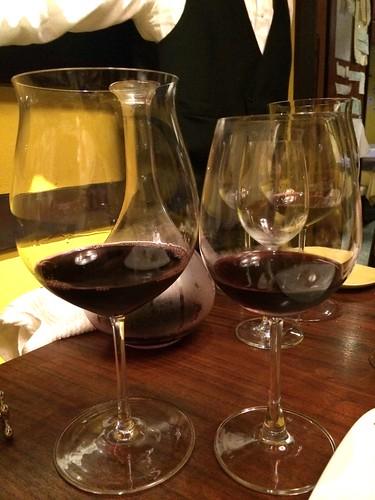 グラスを変えての飲み比べ@Maro Sun (マロサン)