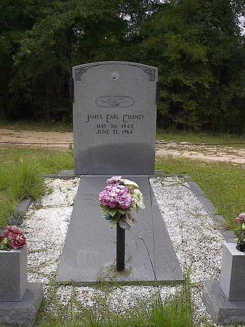 James Earl Chaney's Gravesite, Outside Meridian MS