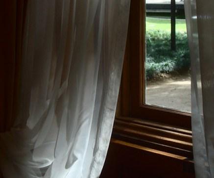 pela janela