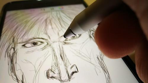 เอา Adonit dash 2 มาลองวาดรูปเล่น