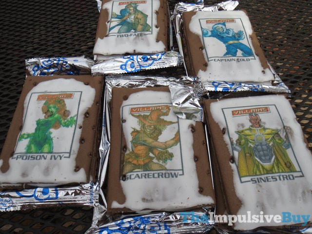 Exclusive Villains Edition Frosted Chocolate Sugar Cookie Printed Fun Pop-Tarts 5