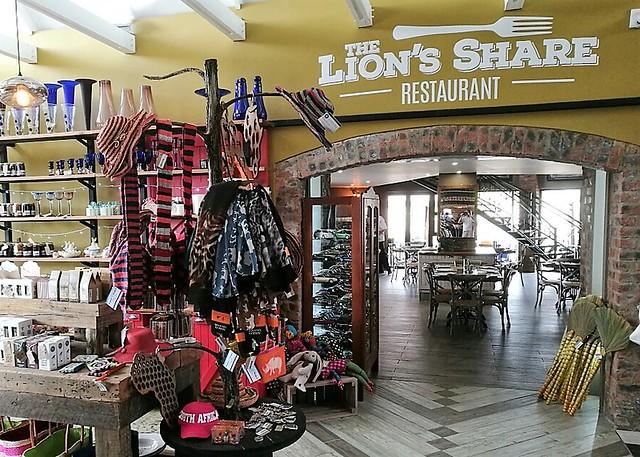 Lions share restaurant Thanda Tau
