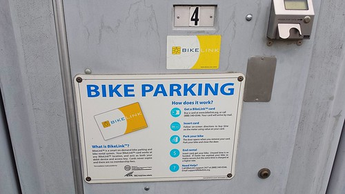 BIkeLink Lockers at VTA HQ