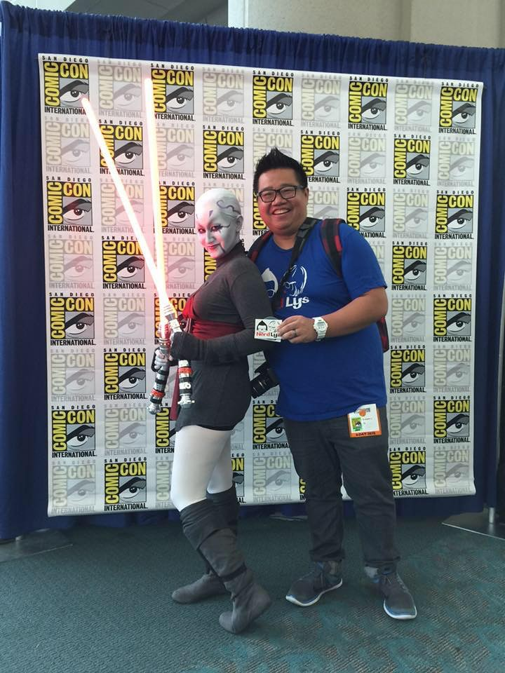 hanging out at SDCC