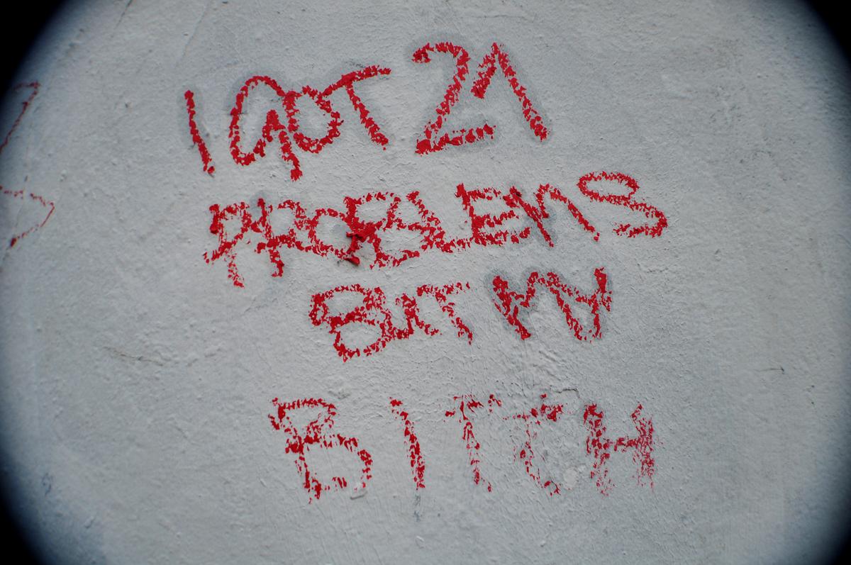 I GOT 21 PROBLEMS BUT MY BITCH
