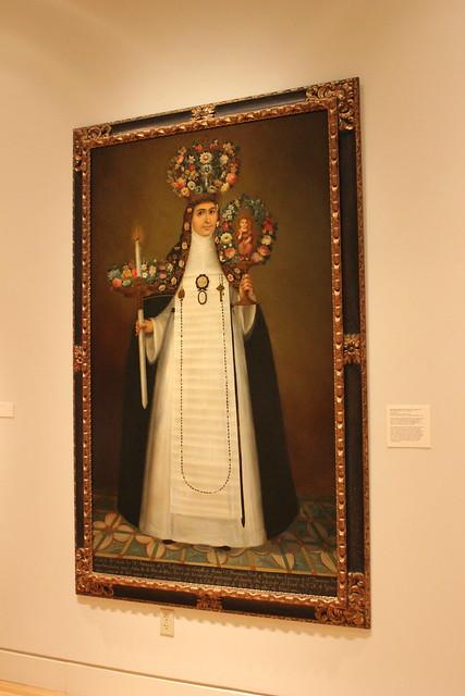 Sor Maria Francisca de san Calletano by Felix Zarate, San Antonio Museum of Art