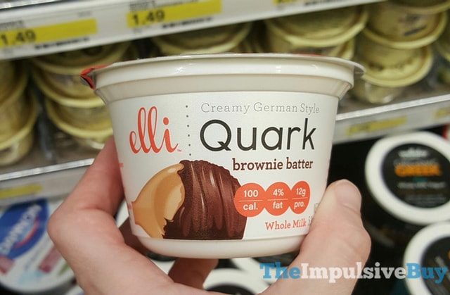 Elli Quark Brownie Batter Yogurt