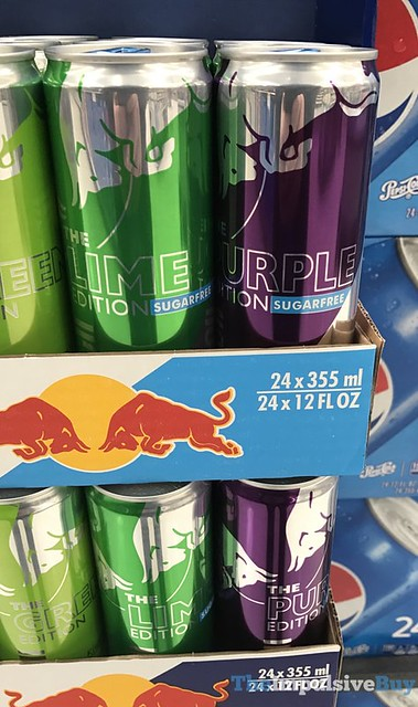 Red Bull The Lime Edition and The Purple Edition