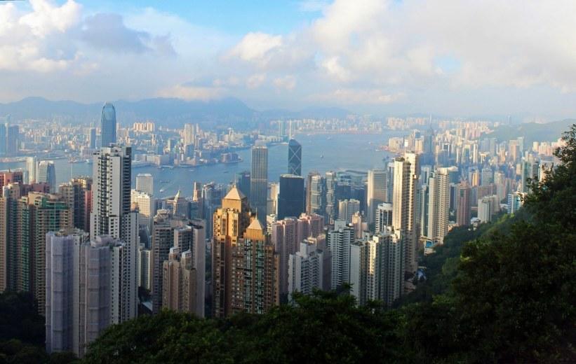 Victoria Peak i Hong Kong