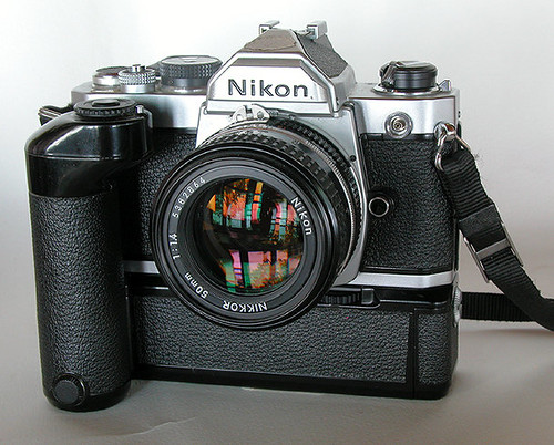 Nikon FM MD-11 by gnawledge wurker