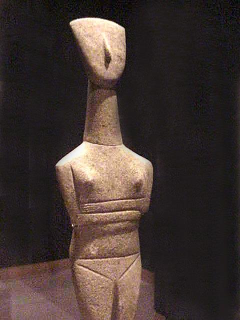 Cycladic Figurine Goulandris Master 2500 2400 Bc Early Cycladic Ii Flickr Photo Sharing