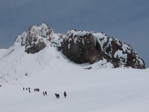Mt. Shasta, Summit Plateau