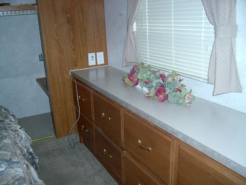 RV Bedroom Dresser