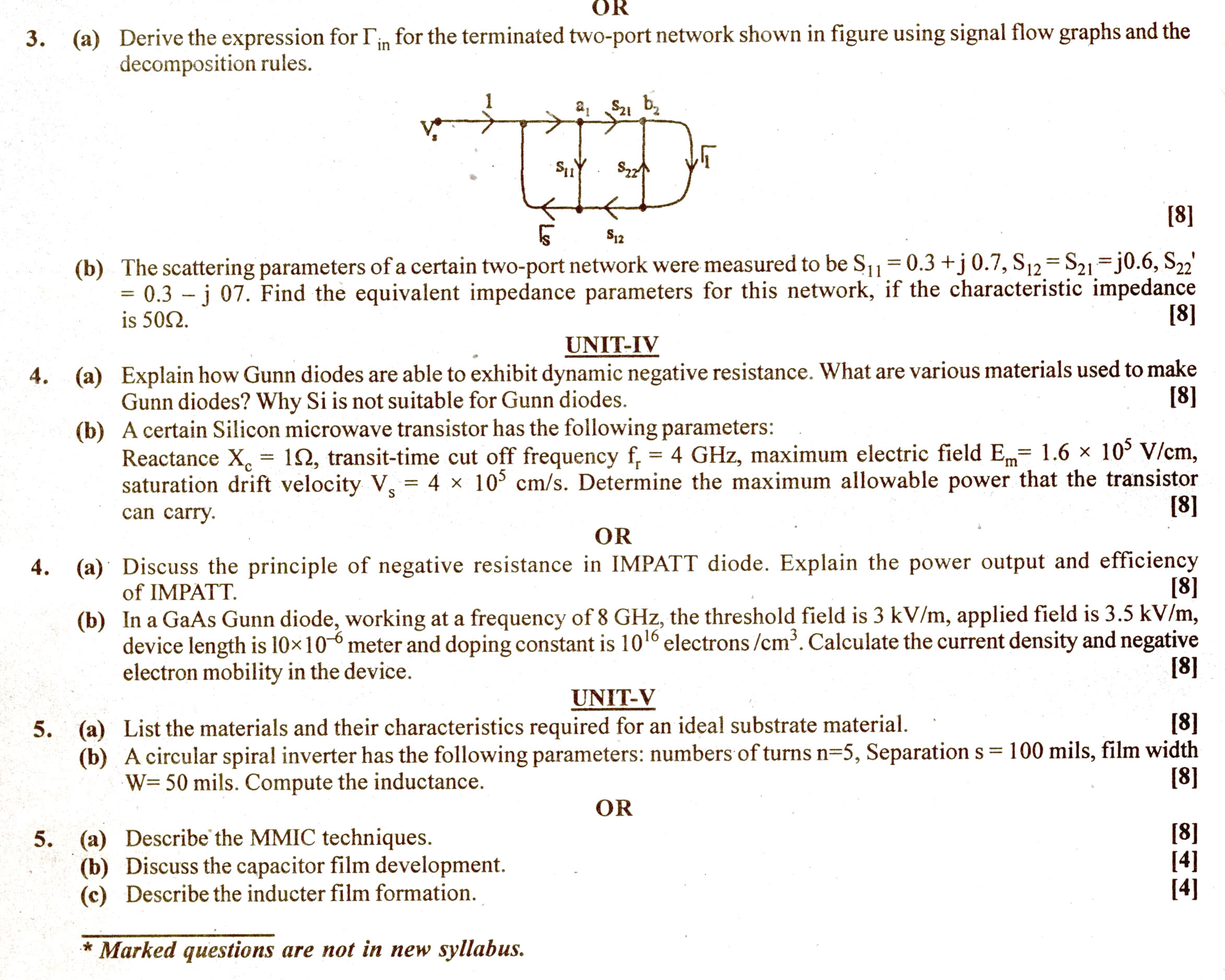 RTU: Question Papers 2014 - 4 Semester