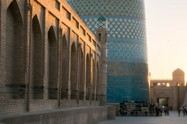 Sleepy Khiva, UNESCO World Heritage city in Uzbekistan