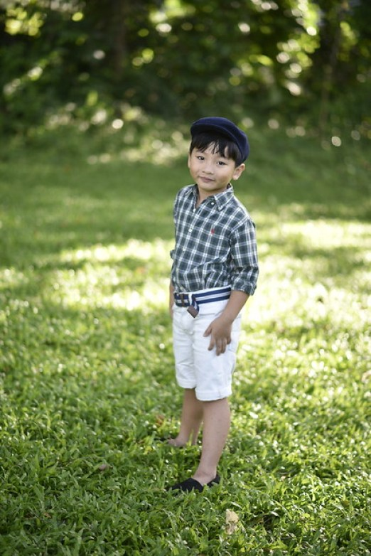 summer fashion of little boy