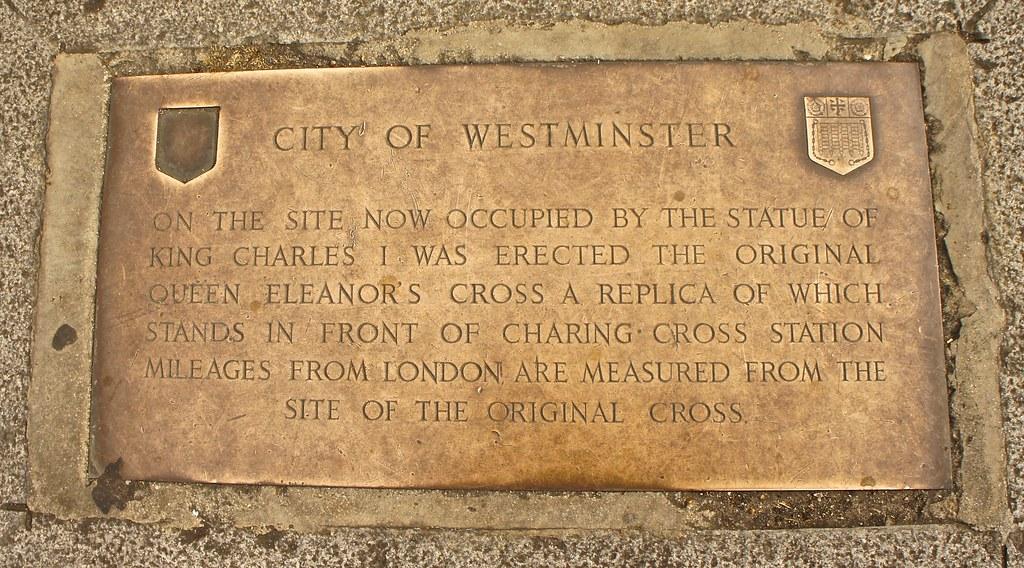 Kilometer Zero at Trafalgar Square