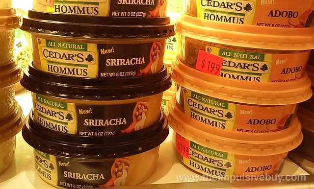 Cedar's Sriracha and Adobo Hommus