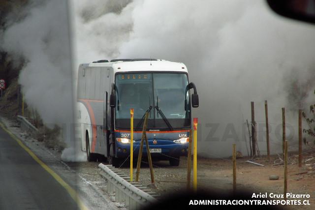 Link Services - Carretera del Cobre - Marcopolo Andare Class / Mercedes Benz (YL9970)