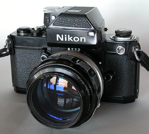 Nikon F2 Photomic with non-AI Nikkor 85mm f1.8 by gnawledge wurker