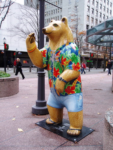 Hawaiian bear #1612
