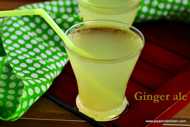 Ginger-ale recipe