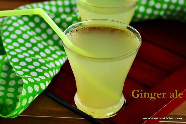 Ginger-ale recipe