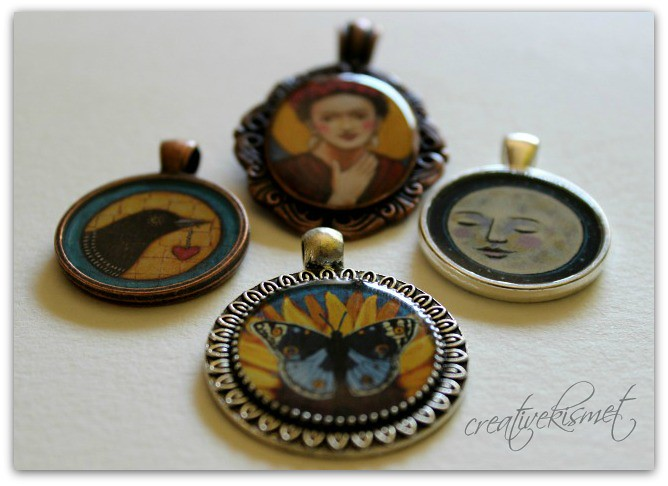 Art Pendants by Regina Lord