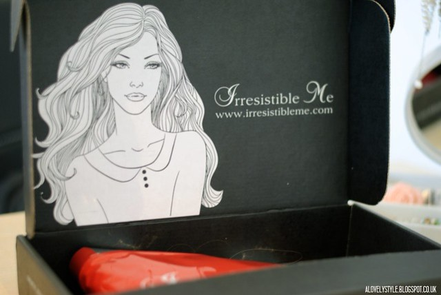 Irresistible Me extensiones/extensions