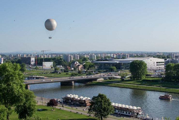 View of the Vistula River