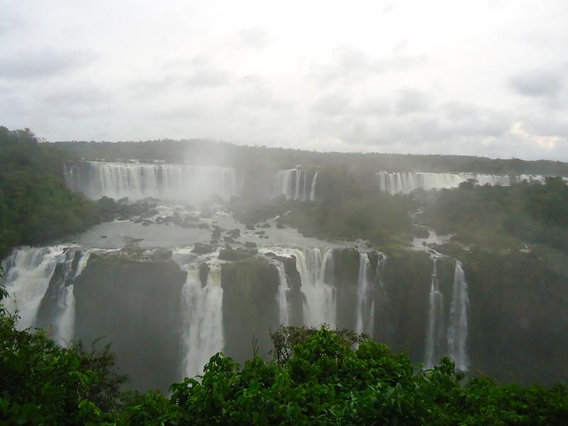 Cataratas de Iguazú, lado de Brasil