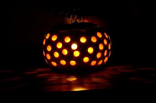 Polka dot lantern