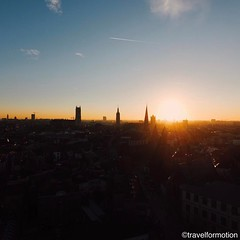Ready for the weekend? #winter #sunset #aerialphotography #ghentcity #ghent #gent #visitgent #vsco #vscocam #wanderlust #colours #landscape #towers #sun #blue #sky #belgium #belgium_unite #igbelgium #visitflanders #guardiantravelsnaps #guardiancities
