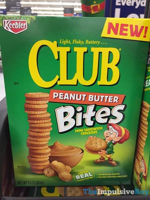 Keebler Club Peanut Butter Bites