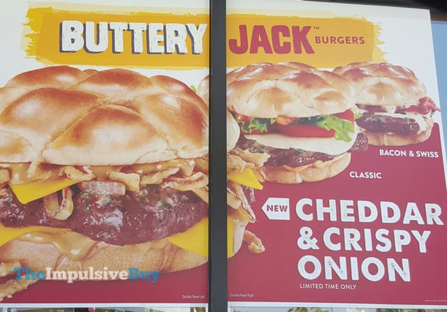Jack in the Box Cheddar & Crispy Onion Buttery Jack